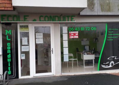 Auto-école de Colombelles - Façade ML CONDUITE